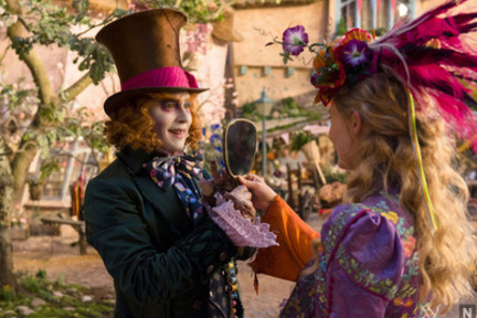 Alica izza ogledala 3D (Alice Throught the Looking Glass 3D)