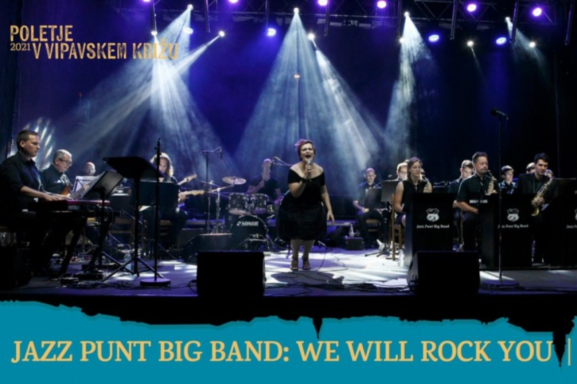 Jazz Punt Big Band: We Will Rock You