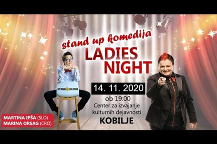 Ladies night stand up (Kobilje) - Ipša in Orsag