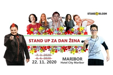 Stand up za dan žena (MB) - Nov datum!