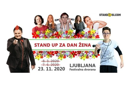 Stand up za dan žena (LJ) - Nov datum!